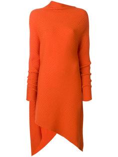 платье с асимметричным подолом Marquesalmeida