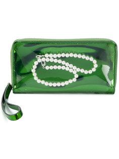 кошелек с украшением жемчугом Mm6 Maison Margiela
