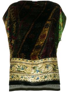 блузка с цветочным рисунком Pierre-Louis Mascia