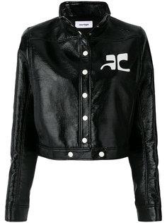 укороченная куртка на пуговицах Courrèges