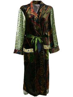 длинное пальто с поясом Pierre-Louis Mascia