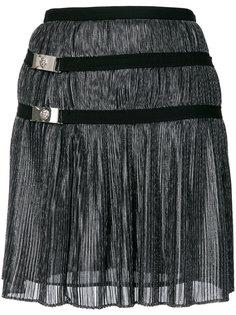 юбка мини с поясом Versus