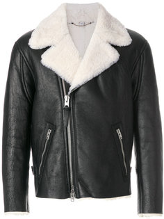 куртка с подкладкой из овечьей шерсти Coach