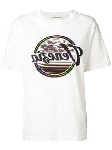 футболка с короткими рукавами и принтом Golden Goose Deluxe Brand