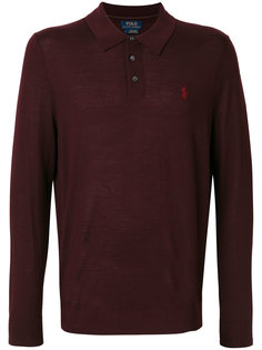 рубашка-поло тонкой вязки Polo Ralph Lauren