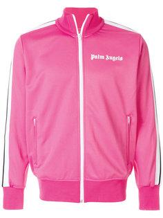 свитер на молнии с логотипом Palm Angels