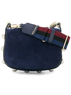сумка на плечо с откидным клапаном Carven