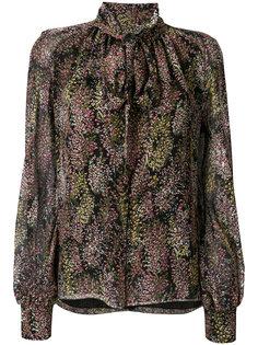 блузка с принтом и завязкой  Giambattista Valli