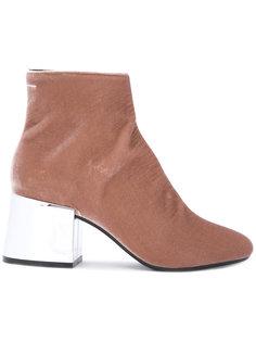 ботинки на зеркальном каблуке Mm6 Maison Margiela
