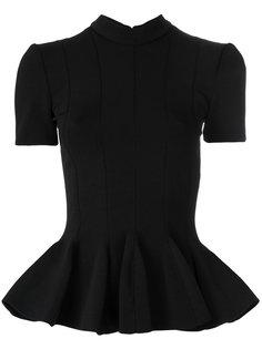 блузка с баской Carven