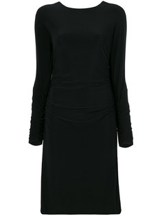 платье со сборками Norma Kamali