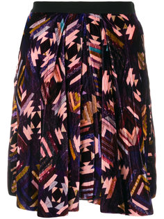 бархатная юбка Tanza Isabel Marant