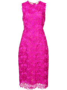 Guipure lace sheath dress Monique Lhuillier