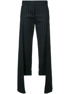 pinstripe layered trousers  Hellessy