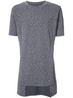 футболка с неравномерным подолом D.Gnak