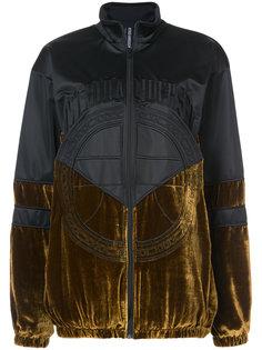 куртка бархатной вставкой Astrid Andersen