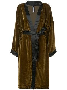 свободное пальто с поясом Astrid Andersen
