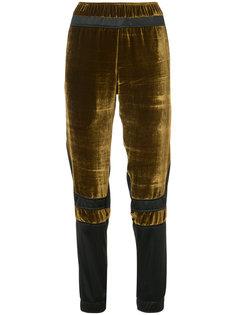 velour panel trousers Astrid Andersen