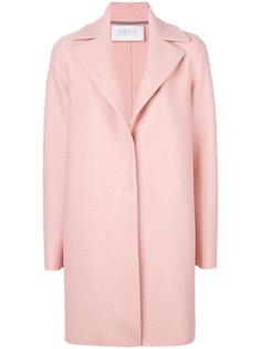 классическое однобортное пальто  Harris Wharf London