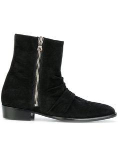 ботинки по щиколотку на молнии Amiri