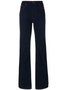 джинсы клеш с контрастной строчкой Calvin Klein 205W39nyc