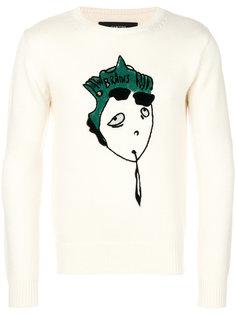 свитер с вышивкой Garcons  Infideles