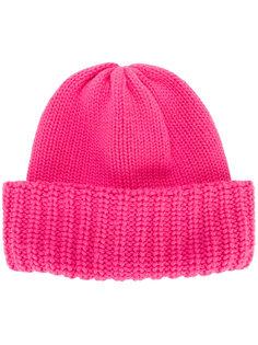шапка-бини в рубчик Laneus