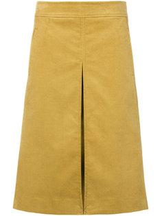 расклешенная юбка с разрезом  Tory Burch