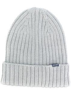 шапка ребристой вязки Woolrich
