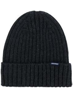 шапка в рубчик Woolrich