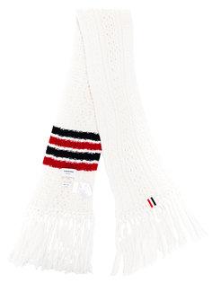 шарф в полоску Thom Browne