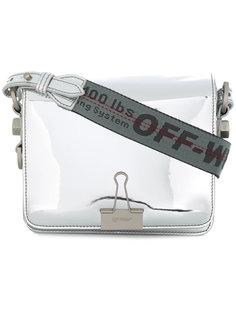 сумка Binder Clip Mirror Off-White