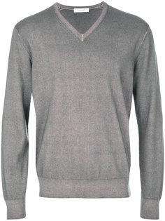 свитер полуприлегающего силуэта Cruciani