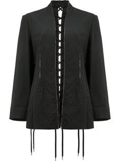 куртка с декоративной строчкой  Yohji Yamamoto