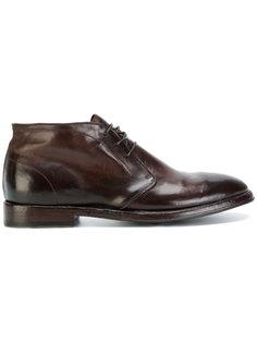 туфли на шнуровке Alberto Fasciani