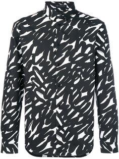 рубашка с принтом Versace