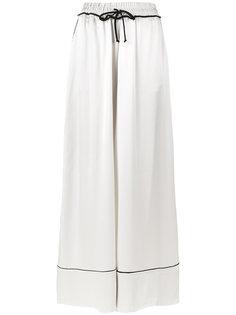 пижамные брюки с завышенной талией Off-White