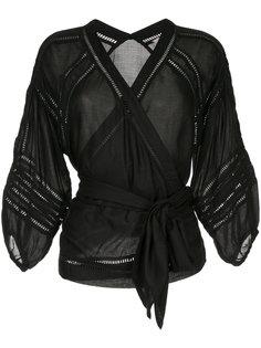 блузка с поясом  Torrazzo Donna