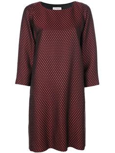 жаккардовое платье Alberto Biani