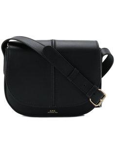 маленькая сумка-мессенджер A.P.C.