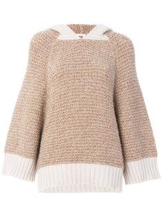 свободный свитер с капюшоном  See By Chloé