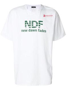 футболка с принтом NDF Raf Simons