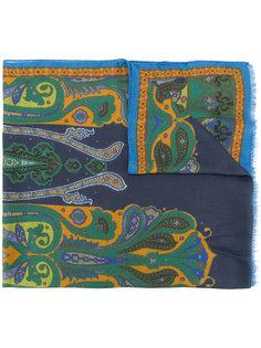 шарф с принтом-пейсли Etro