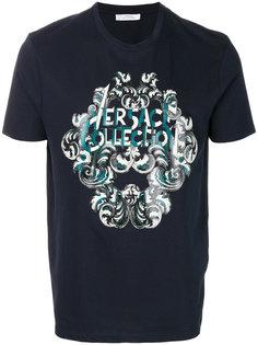 футболка с принтом в стиле барокко Versace Collection
