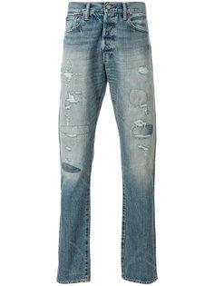 джинсы с потертой отделкой Polo Ralph Lauren