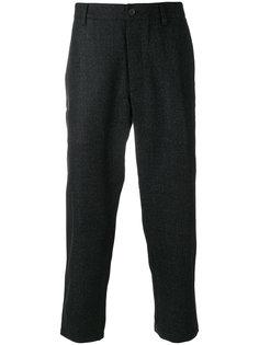 укороченные классические брюки YMC