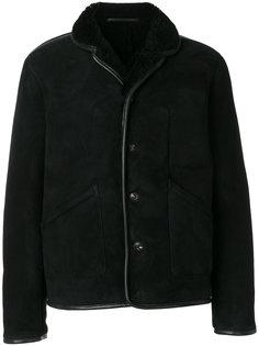 куртка из овчины на пуговицах YMC