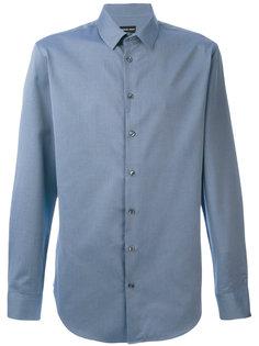 рубашка с мелким узором Giorgio Armani