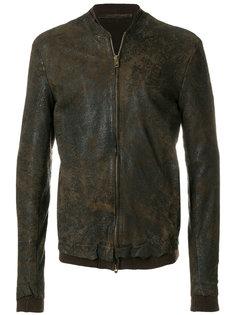 фактурная куртка Salvatore Santoro