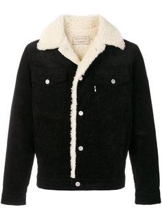 куртка с отделкой под овчину Maison Kitsuné